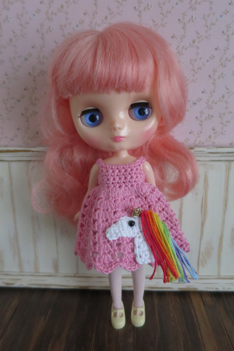Middie Blythe Crochet Amigurumi Dress image 0