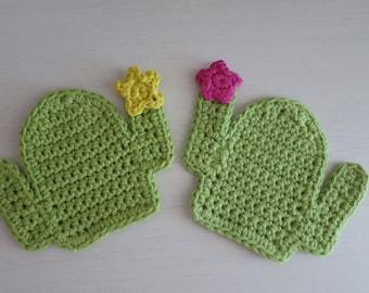 Cactus Mug Coasters Set