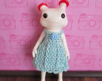 Wonderfrog Forest Friend Crochet Dress