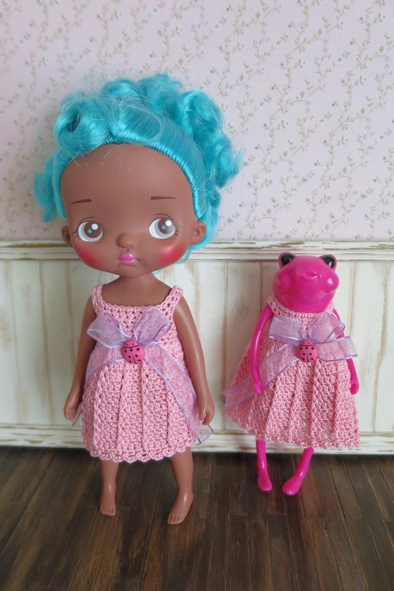 Wonderfrog Tadpole & Holala Doll Crochet Dress image 0