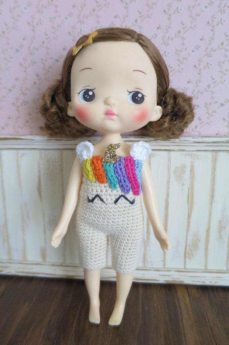 Holala Doll/Blythe Crochet Romper image 0