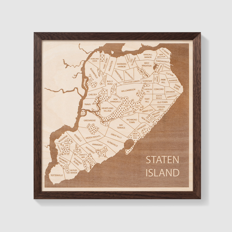 Map Of Bulls Head Staten Island on