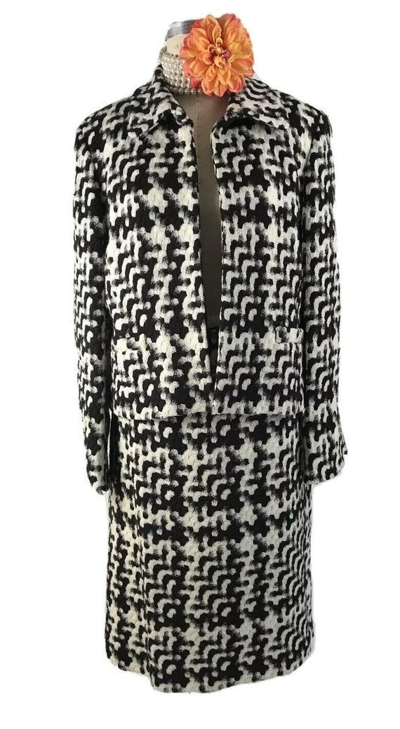 Vintage Ellen Tracy Womens 2 Pc Skirt Suit Set 16