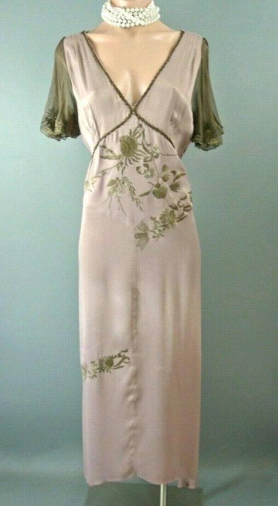 Vintage Nataya Hopeless Romantic Dress XL Dusty Pi