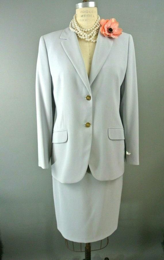 VintageBurberrys Women Suit Set S 3pc (Jacket Skir