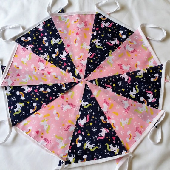 UNICORN 3 METRE BUNTING new