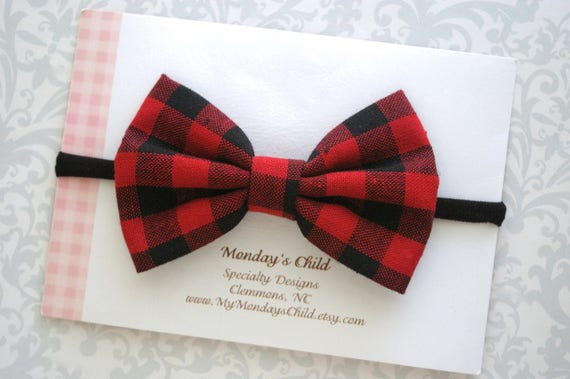 Buffalo Plaid Bow Buffalo Plaid Baby Bow Buffalo Plaid Baby  d9becd4042c