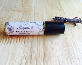 Gingermilk Perfume Oil, Vegan perfume, Sexy perfume, Roll-On perfume, spicy perfume, cardamom perfume, ginger perfume