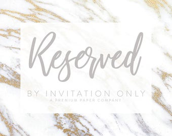 By invitation only wedding event stationery by lvandy27 on etsy reserved listing for ditvere stopboris Images