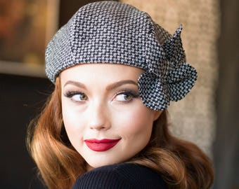 Handmade hats   hair accessories by Bellastarrhats on Etsy 9e72217f9791