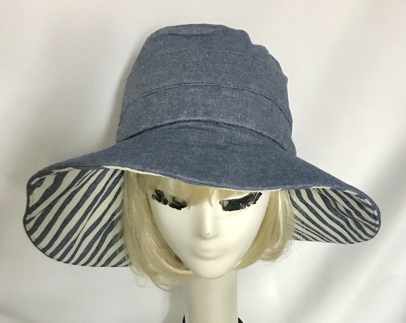 8ff4726d845c72 Sun Hat Wide Brim   Etsy