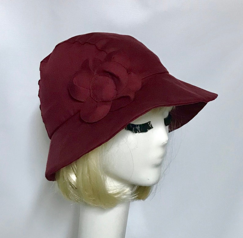 Rain Hat Cloche Rain Hat Slicker Hat Winter Hat Travel  5e2f4650fd5