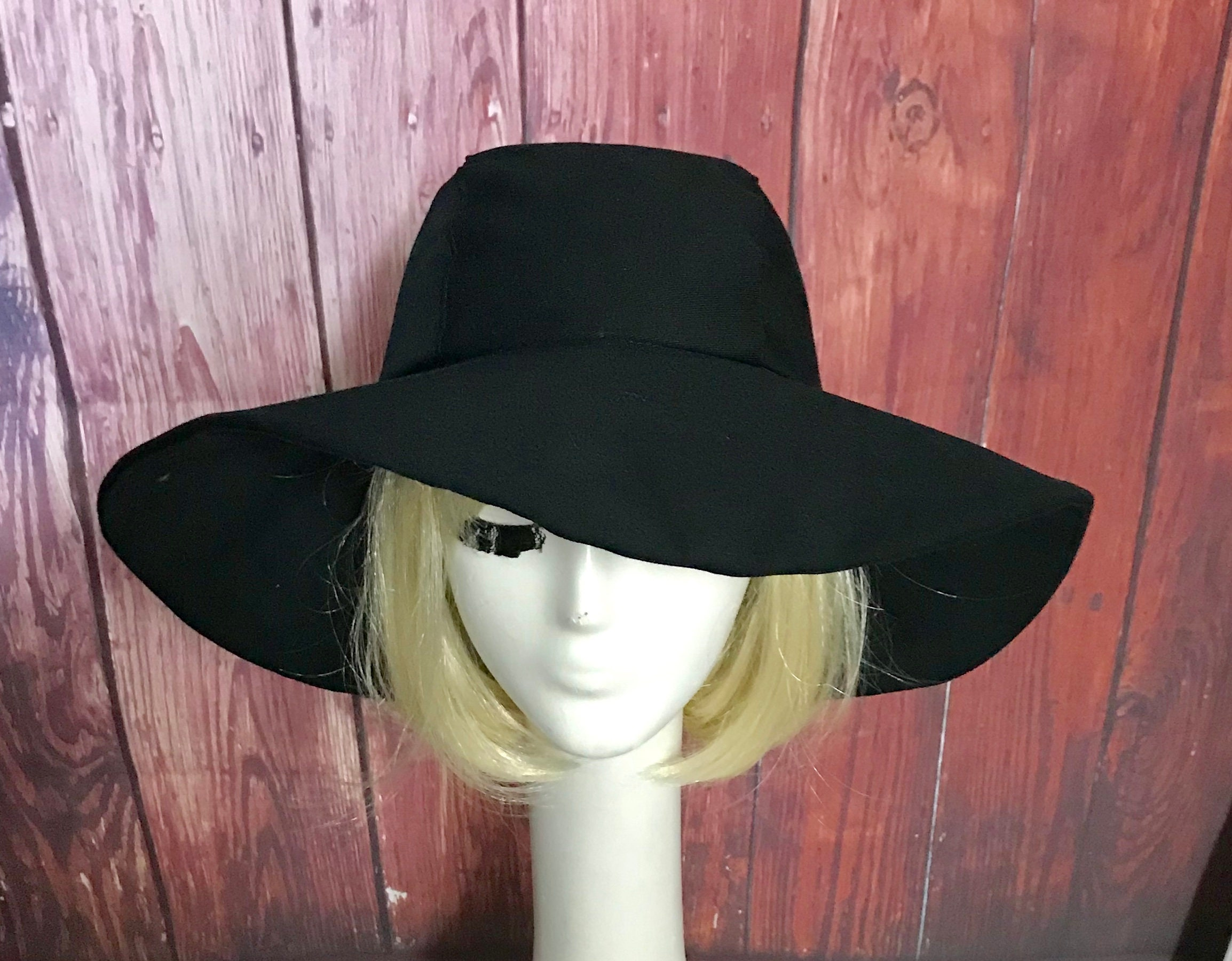 191d05da37 Wide Brim Sun Hat Black
