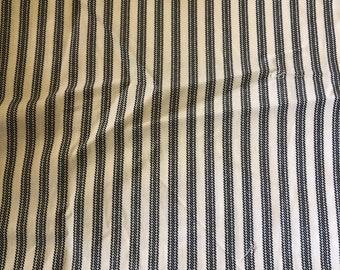 Ticking Stripe Quilting Material Fabric