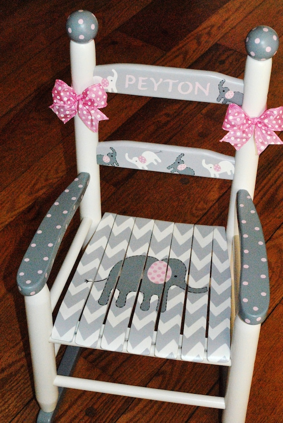 hand painted furniture hand painted rocking chair child/'s rocking chair