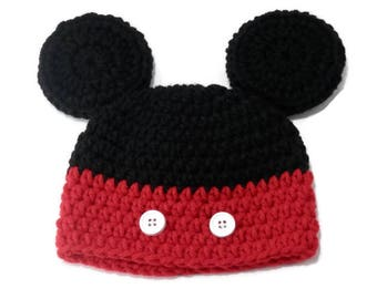 e99a5455bc780 Mickey Mouse Hat for Baby
