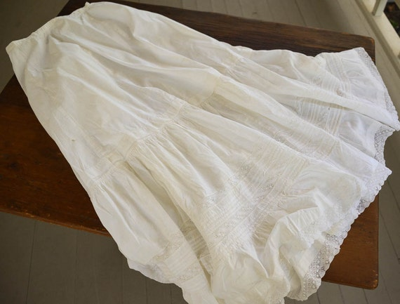 Antique Lace Petticoat