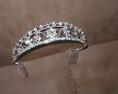 Rhinestone Bridal Tiara Headpiece