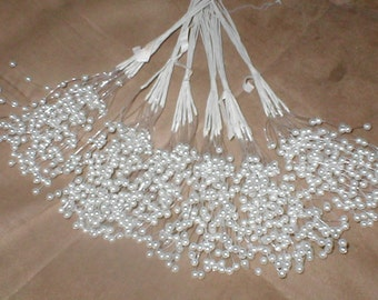 huge lot of Vintage Pearl Filament Sprays