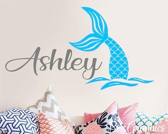 STARFISH WISHES wall stickers 17 decals girl/'s bedroom tween MERMAID fish heart
