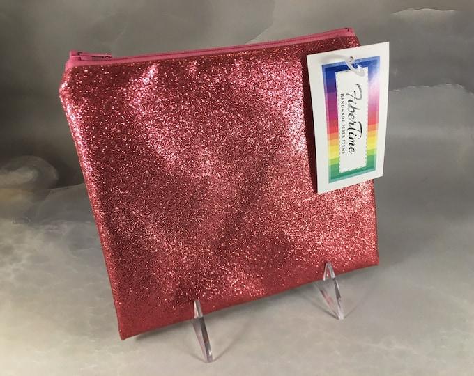 Glitter Fabric Pouch