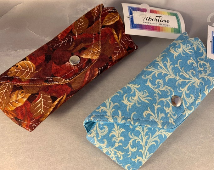 Leaves and Foliage Handcrafted Eyeglass/Sunglasses Cases