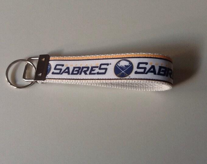 Buffalo Sabres Ribbon Key Fob