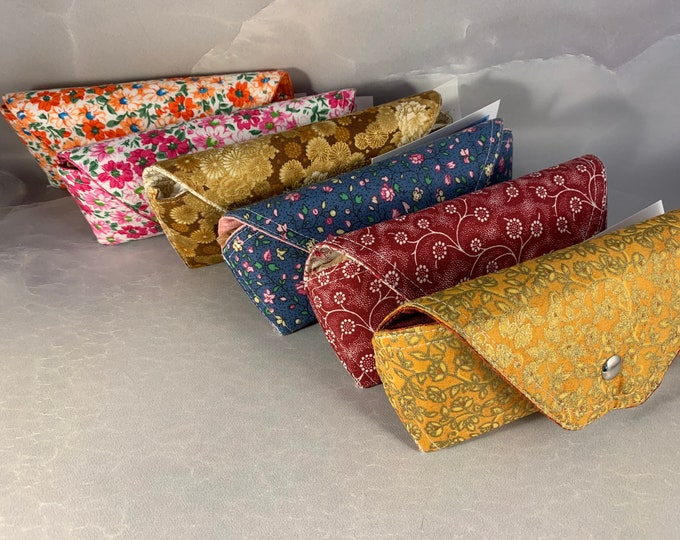 Floral Handcrafted Eyeglass/Sunglass Cases
