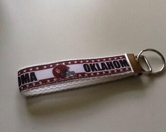 Oklahoma Sooners Key Fob