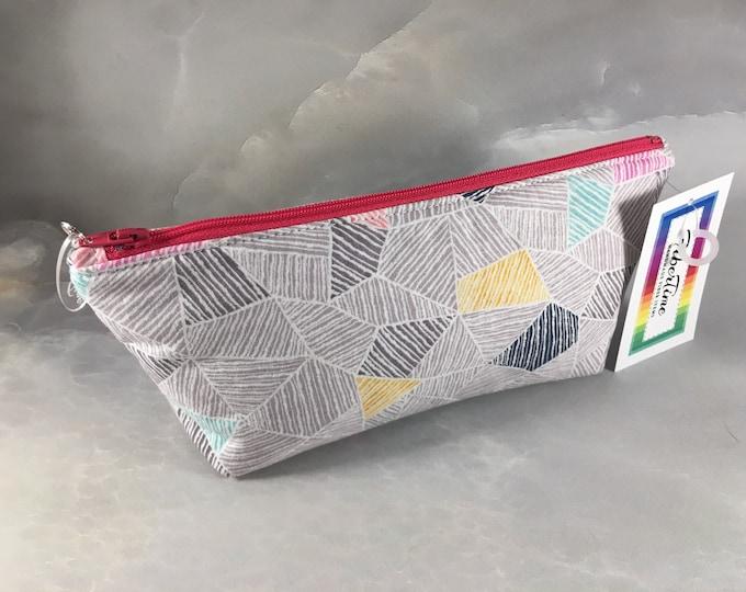 Pastel Abstract Make Up Bag