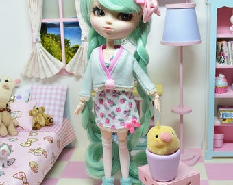 Pullip Outfit *** Flowery *** DOL186 FTWR Handmade