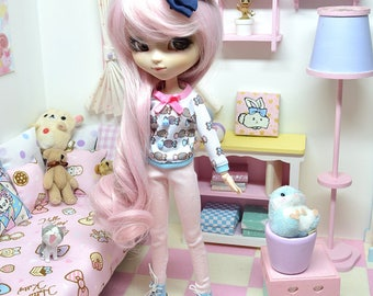Pullip Outfit *** Candy Posh *** DOL185 FTWR Handmade