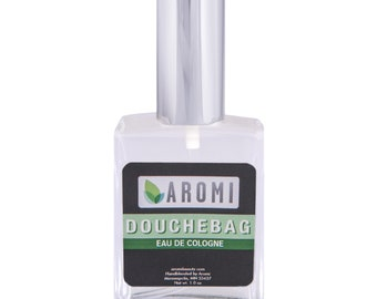 Douchebag Liquid Cologne. Men's Cologne, Manly Cologne, Men's Fragrance, Liquid Cologne, Funny Men's Gift, Vegan Cologne, Cruelty-free