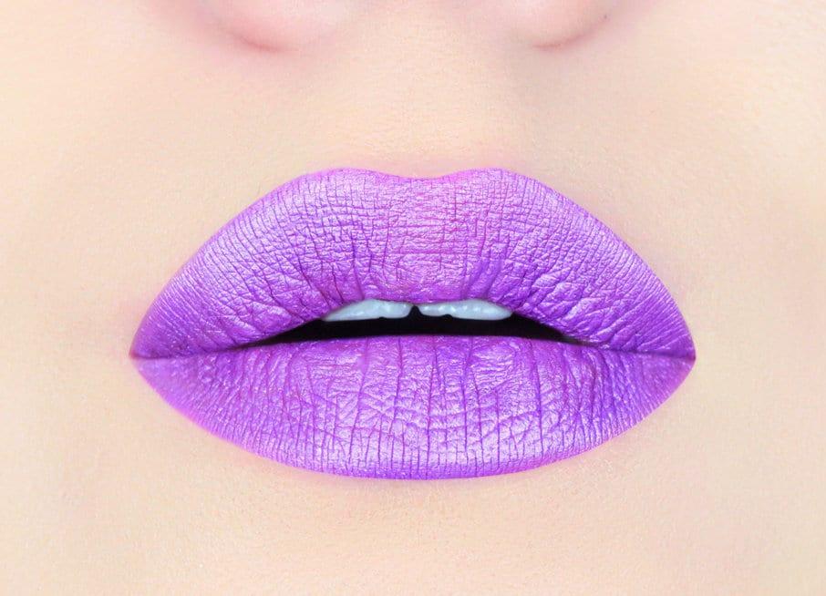 Lila Metallic Lippenstift schimmernde lila Lippenstift | Etsy