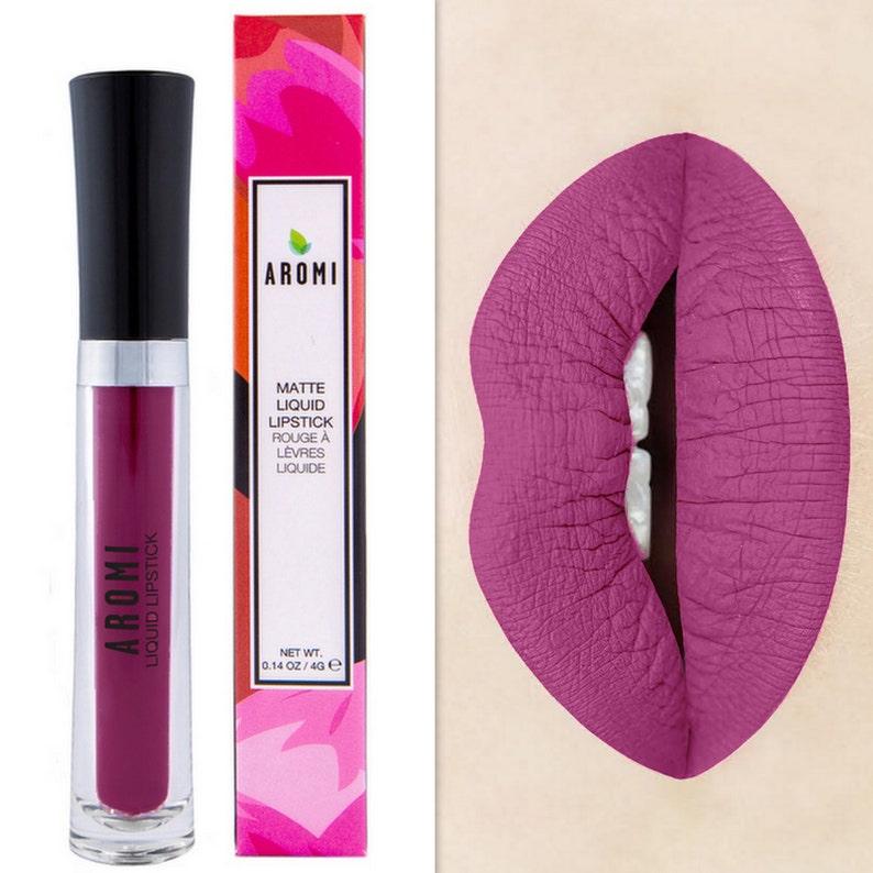 f8722992bd Merry Mulberry Matte Liquid Lipstick. Glossy to Matte Liquid