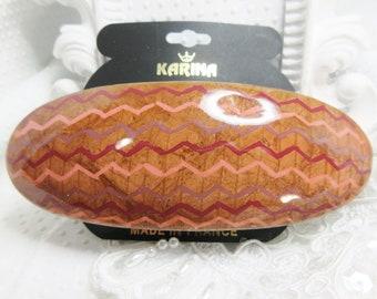Made in Mauritius Tortoise Half Moon Hair Claw