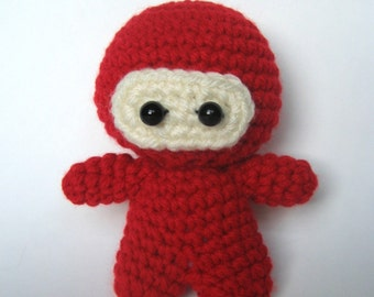 Amigurumi Crochet Ninja Pattern
