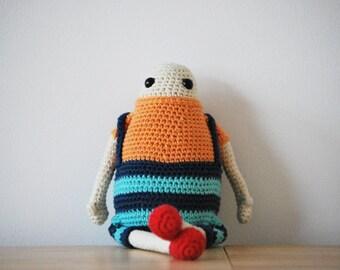 MINUS - PDF pattern crochet amigurumi