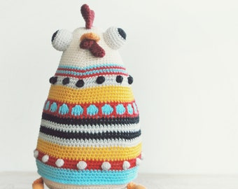 The HEN Sisters - PDF pattern crochet, amigurumi ebook