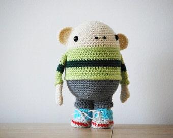 PICKLES - PDF pattern crochet amigurumi