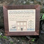 The Parting Hour : Cross Stitch Pattern by Heartstring Samplery