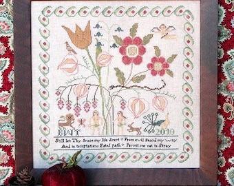 Permit Me Not to Stray : Cross Stitch Pattern by Heartstring Samplery