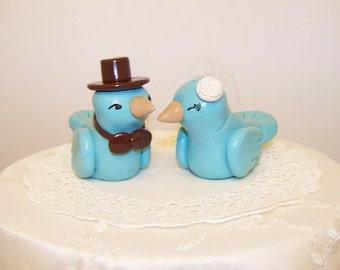 Elegant Wedding Cake Topper - Colors of Choice