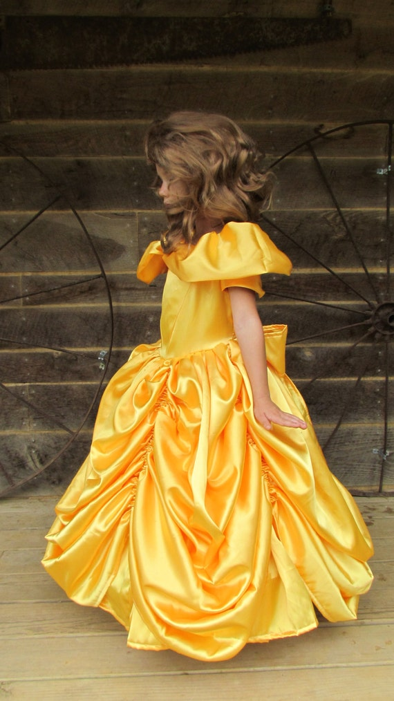 Beauty And The Beast Halloween Costume Belle Princess Formal Ball Gown Beauty  Adult Size by Etsy