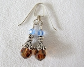 Blue and Brown Crystal Ea...