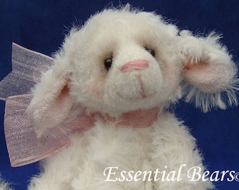 Hannah the Lamb -  Complete sewing kit for a miniature lamb