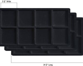 Jewelry Tray Inserts 8 Compartments
