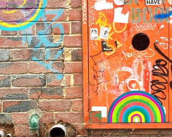 giclee print - melbourne street art photo - portals of hope