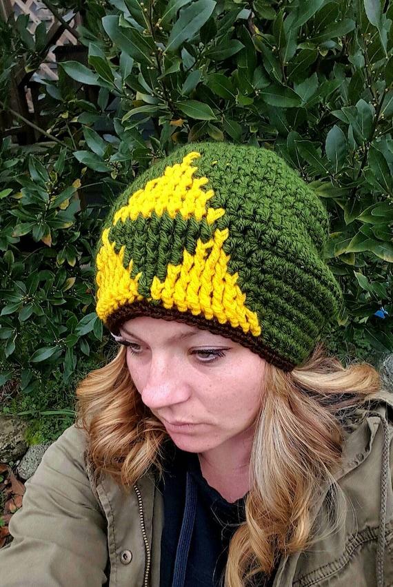 ee107f1284c Tri-force hat zelda hat green winter hat adults tri-force