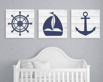 Nautical nursery decor | Etsy
